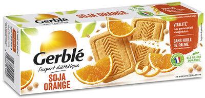 Biscuit soja orange - Produit - fr