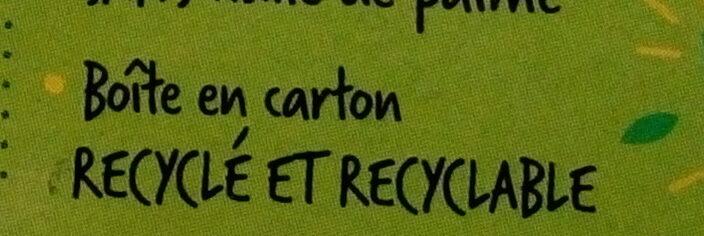 Biscuit lait chocolat - Instruction de recyclage et/ou informations d'emballage - fr
