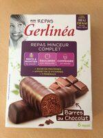 Repas minceur complet barres saveur chocolat - Produit - fr