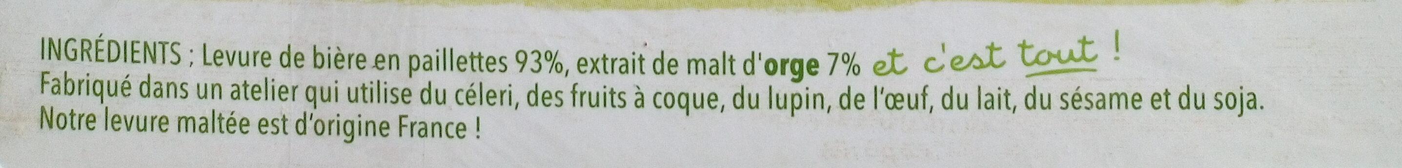 Levure de bière - Ингредиенты - fr