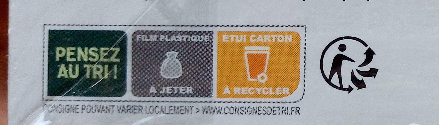 Levure de bière - Инструкции по переработке и / или информация об упаковке - fr