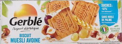 Gerblé biscuit muesli avoine - Product - fr