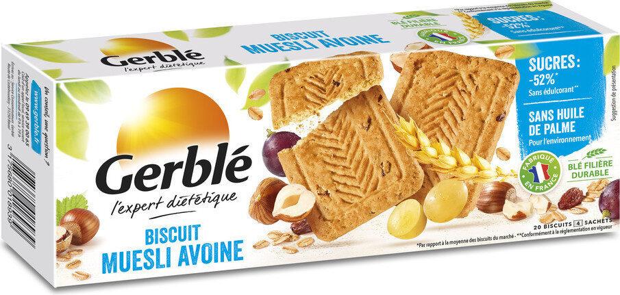 Biscuit muesli avoine Gerblé - Produit - fr