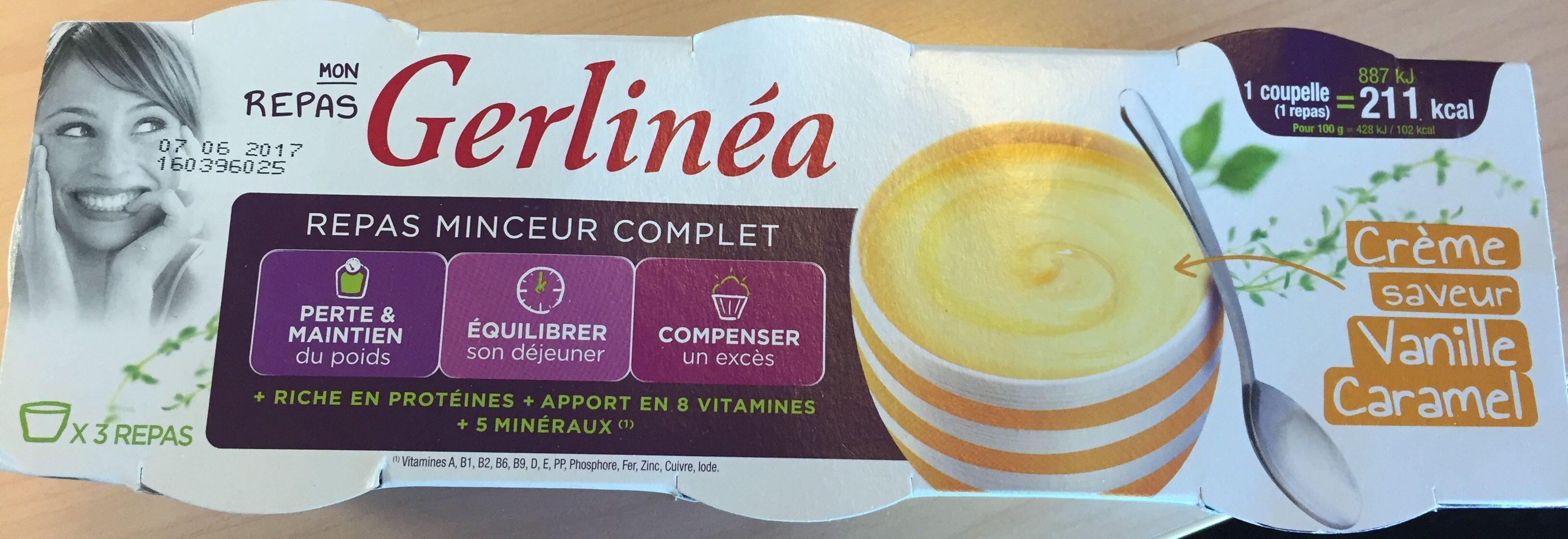 Repas saveur vanille caramel - Produit - fr