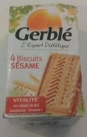 4 Biscuits Sésame - Product
