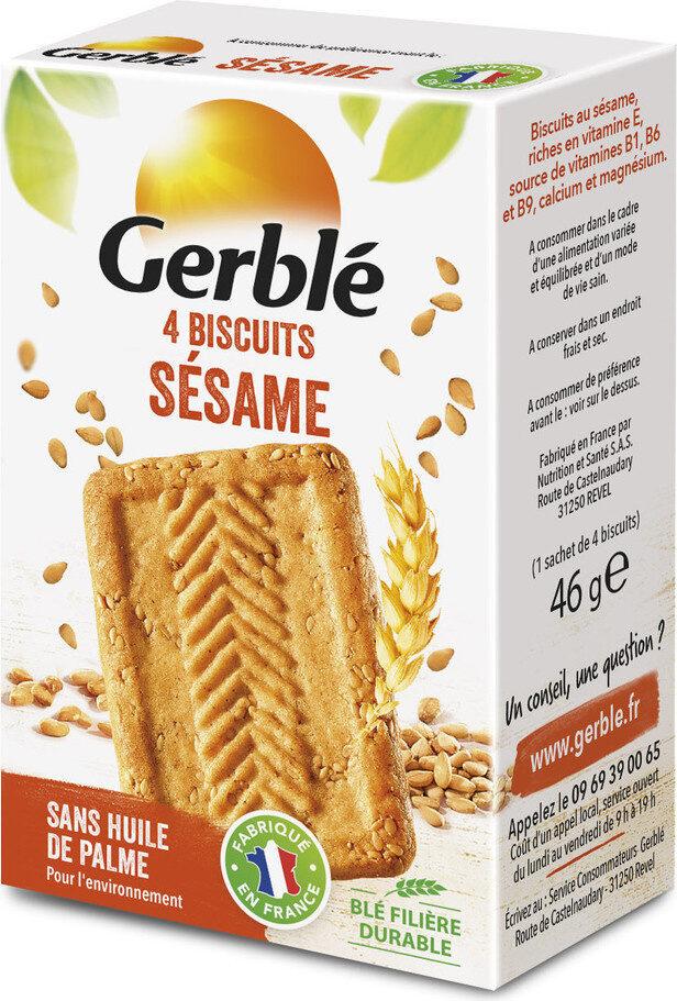 Biscuit sésame Gerblé - Prodotto - fr