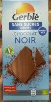 Chocolat Noir Sans Sucres Ajoutés - Product