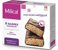 Milical - Barres HP chocolat - étui 6 barres - Product - fr