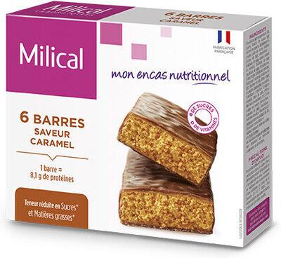 Milical - Barres HP caramel - étui 6 barres - Product