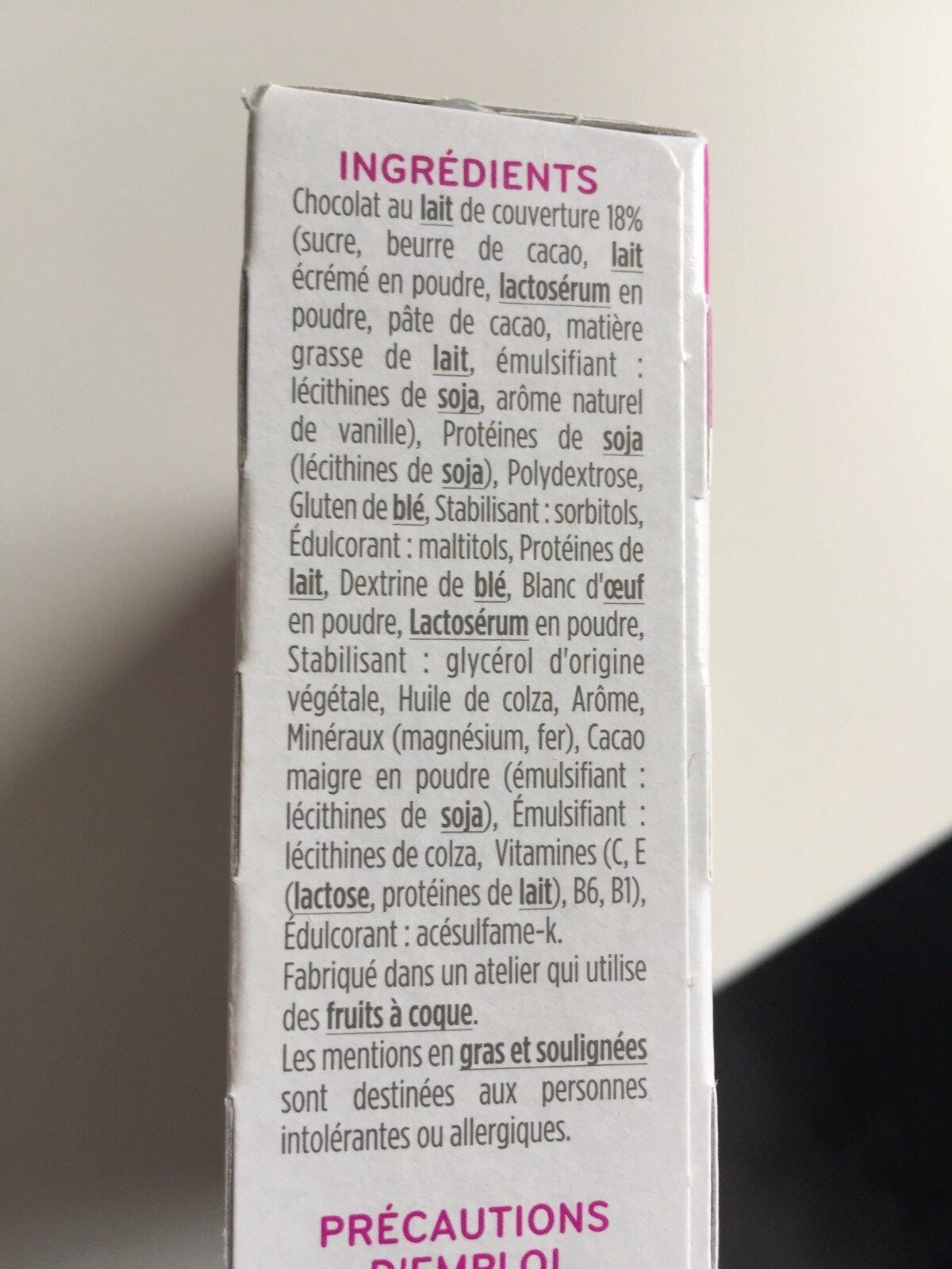 Milical - Barres HP caramel - étui 6 barres - Ingredients