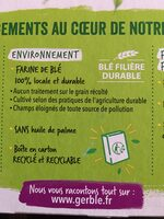 Crousti'Son Miel Sésame - Recycling instructions and/or packaging information - fr