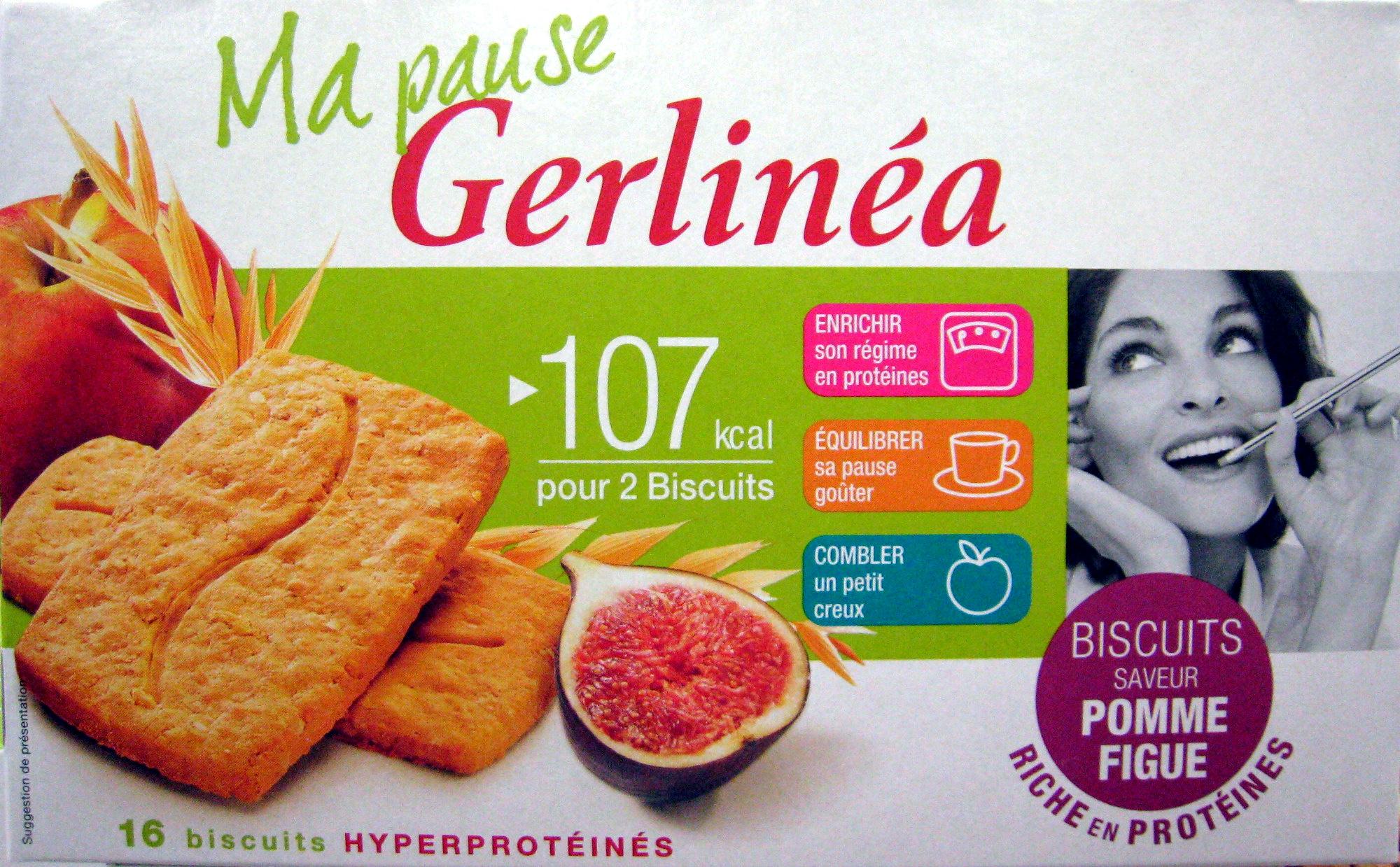 Biscuits saveur pomme figue - Produit