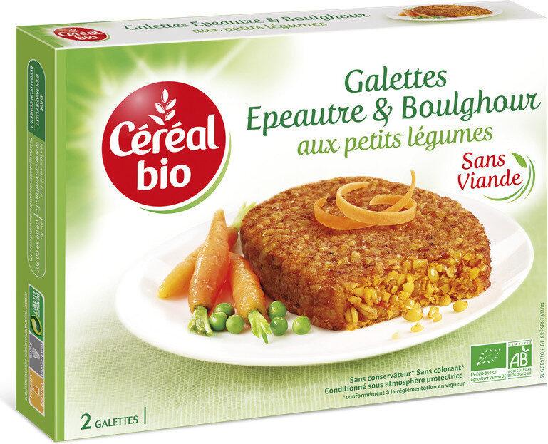 Galettes Epeautre et Boulghour aux petits légumes - Product - fr