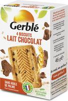 Biscuit lait chocolat Gerblé - Produit - fr