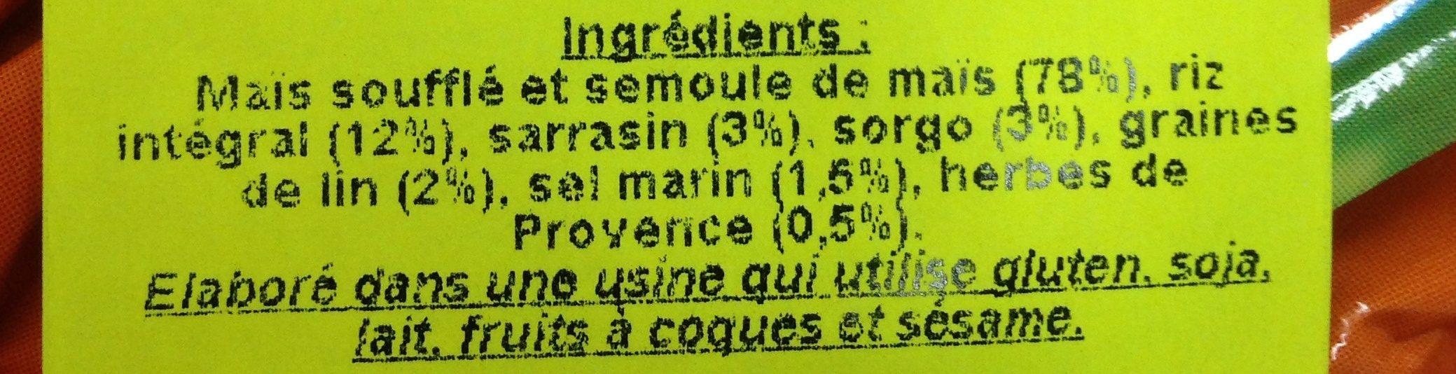 Tortetes Multicer. gerble - Ingredientes