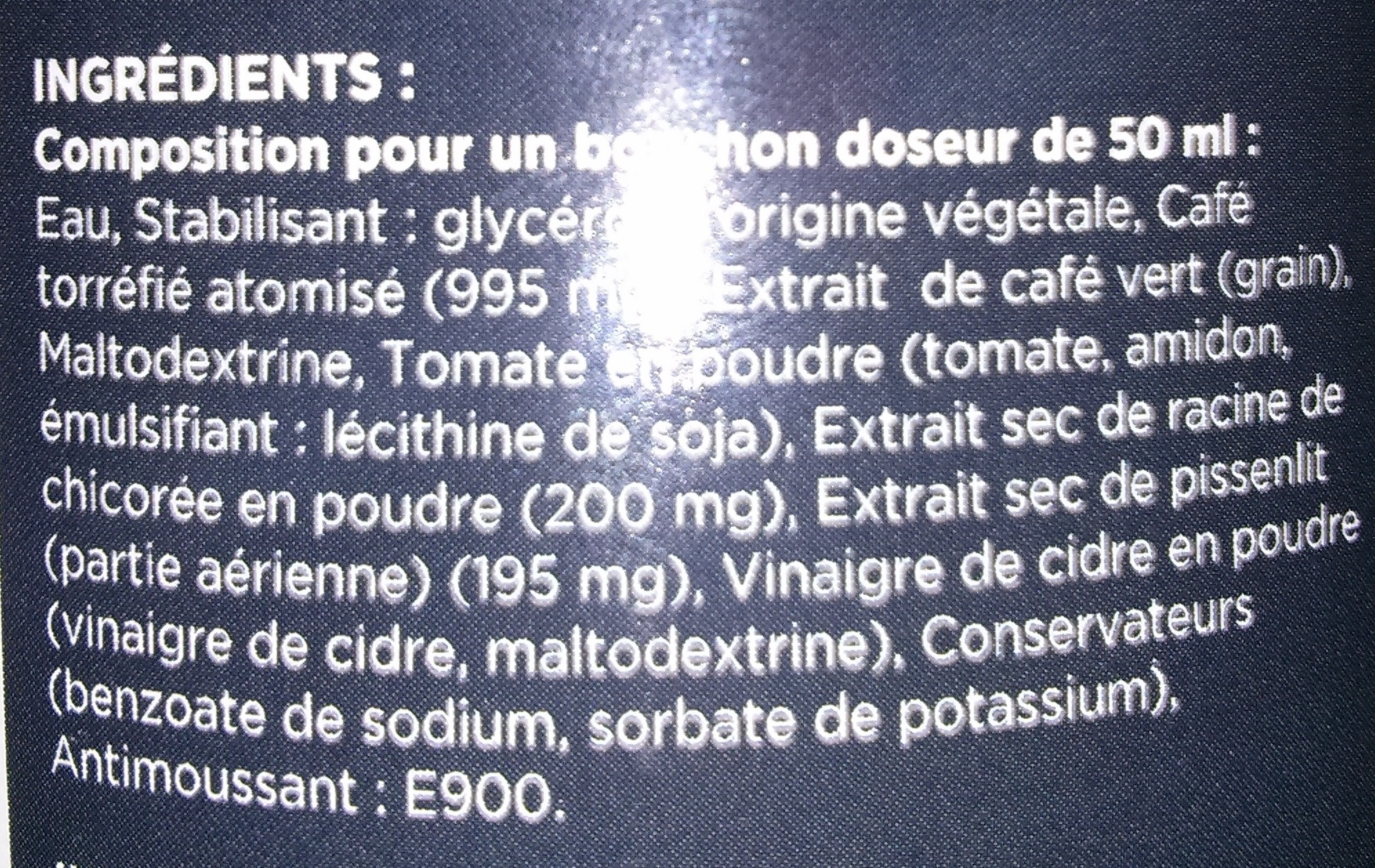 Draineur Homme Goût Café - Gerlinéa - 500 ml