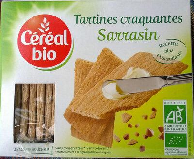 Tartines craquantes sarrasin - Producto - en