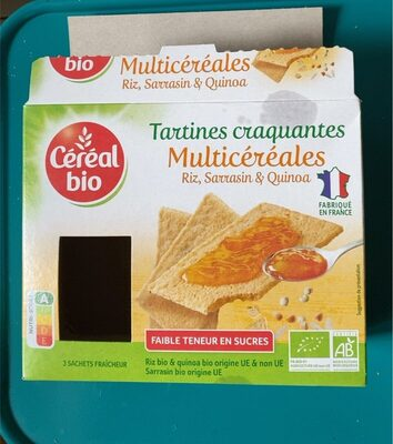 Tartine craquante multicereales - Producto - en