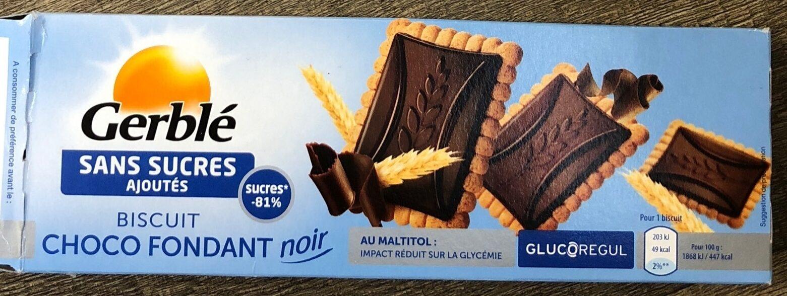 Biscuit choco fondant noir - Product - fr