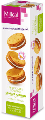 Milical Nutrition Saveur Citron 12 Biscuits - نتاج