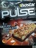 Barres Isostar Pulse Guarana noisette chocolat - Product