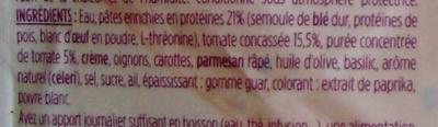 Plat Express : Pâtes à la napolitaine - Ingrédients - fr