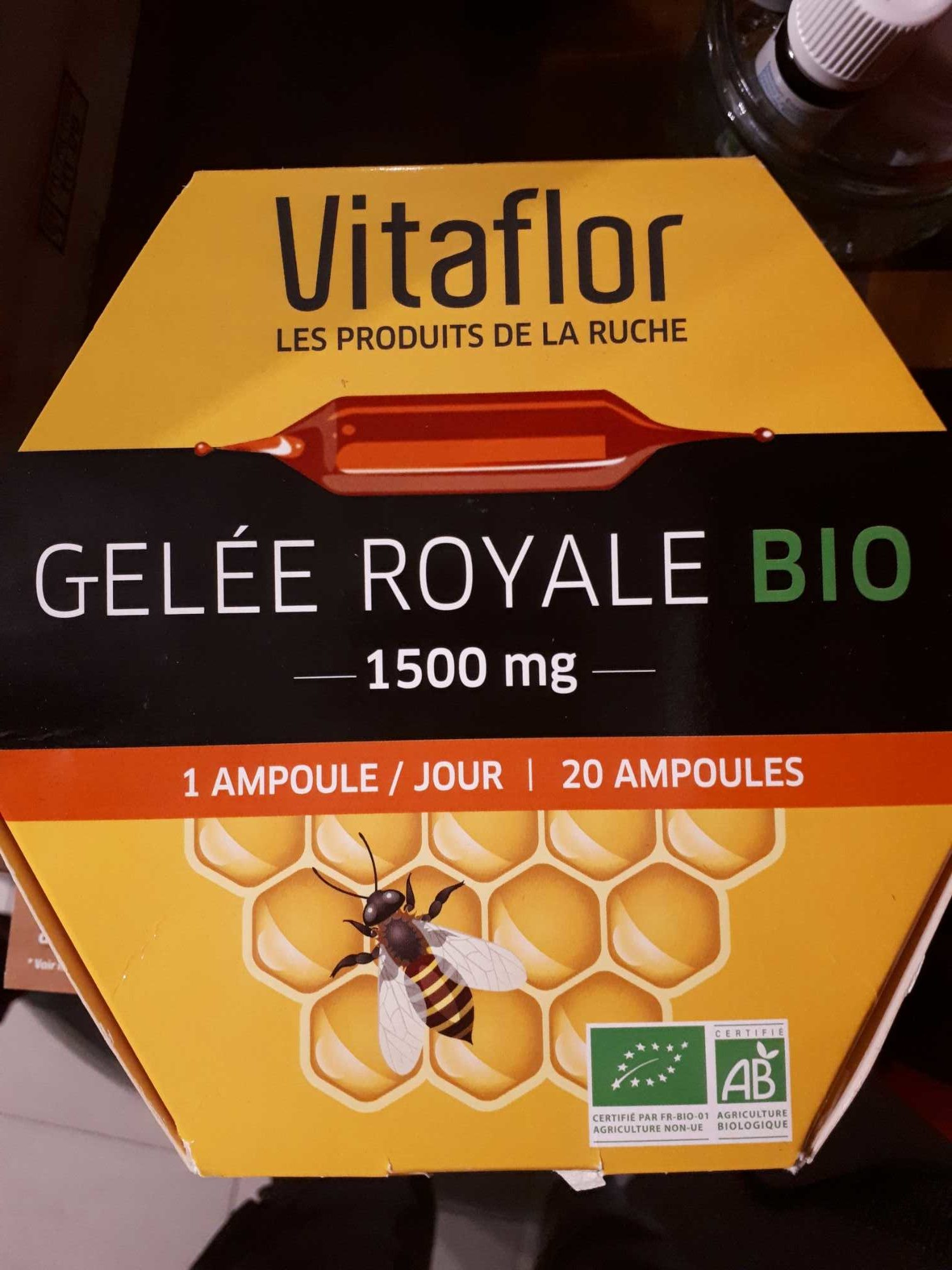 Gelee royale 1500mg - Product - fr