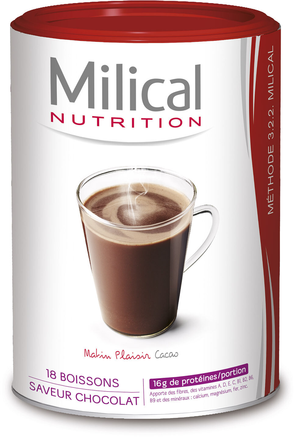 Milical HP- Boisson Chocolat Bte Eco - Produit