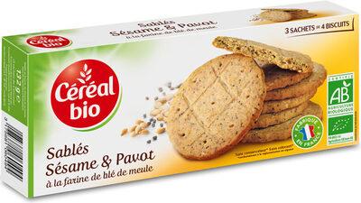 Sablés sésame & pavot - Product - fr