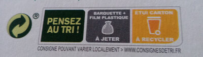 Cookies au chocolat - Recycling instructions and/or packaging information - fr