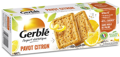 Biscuits Pavot Citron - Product - fr