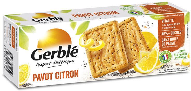 Biscuits Pavot Citron - Prodotto - fr