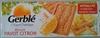 Biscuit pavot citron -