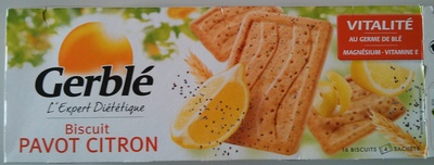 Biscuits Pavot Citron - Product