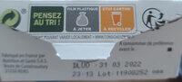 Biscuits Pavot Citron - Instruction de recyclage et/ou informations d'emballage - fr