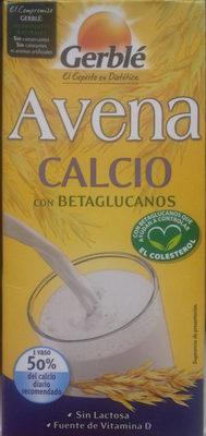 Bebida de avena Calcio - Producto