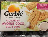 Croustillant avoine coco aux 3 sons - Produit - fr