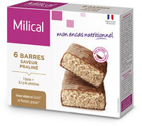 Milical nutrition saveur vanille barres - Product - fr