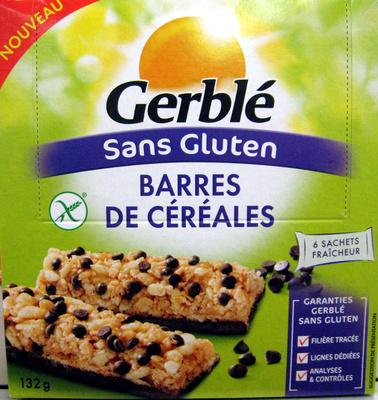 Barres de céréales sans gluten - Product - fr