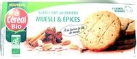 Sablés bio au beurre - Muesli & Épices - Prodotto - fr