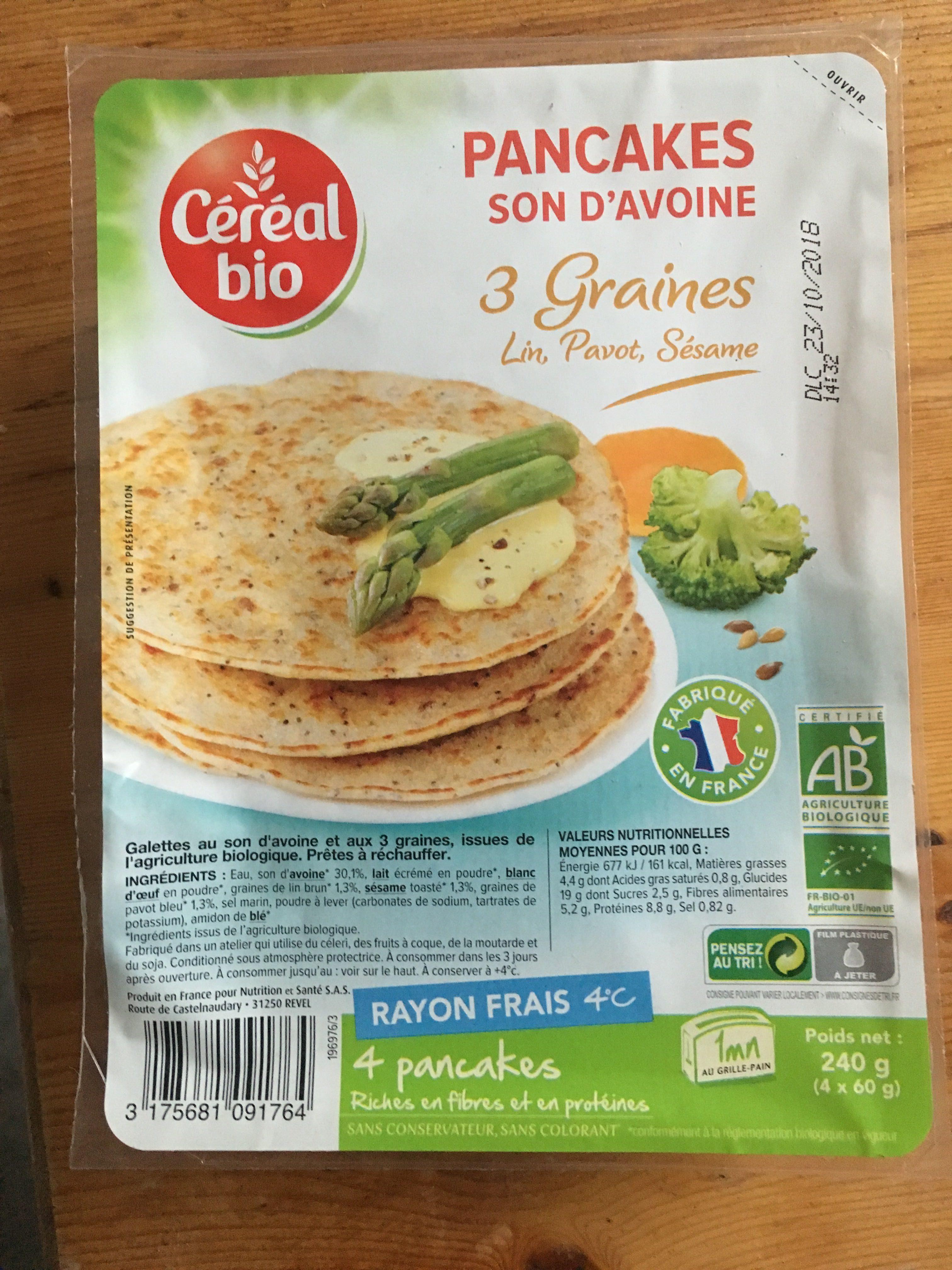 Pancakes - Produit - fr