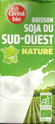 Boisson Soja du Sud-Ouest  Nature  - Produit