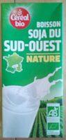 Boisson soja du sud ouest nature - Prodotto - fr