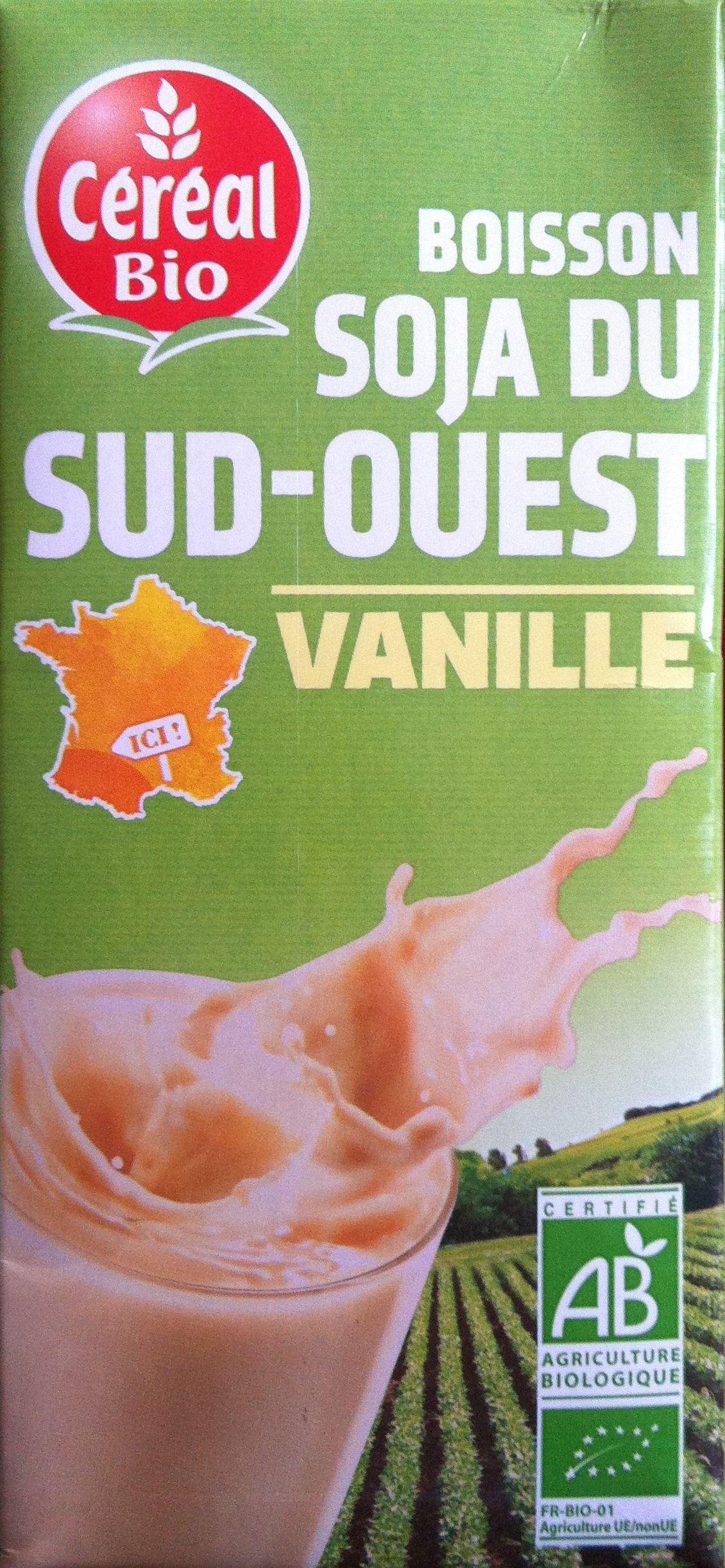 Boisson soja du Sud-Ouest Vanille - Ingrédients - fr