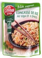 Concass de riz au soja et 4 pices bio cereal bio 220 g 1 personne - Quantite de riz par personne ...