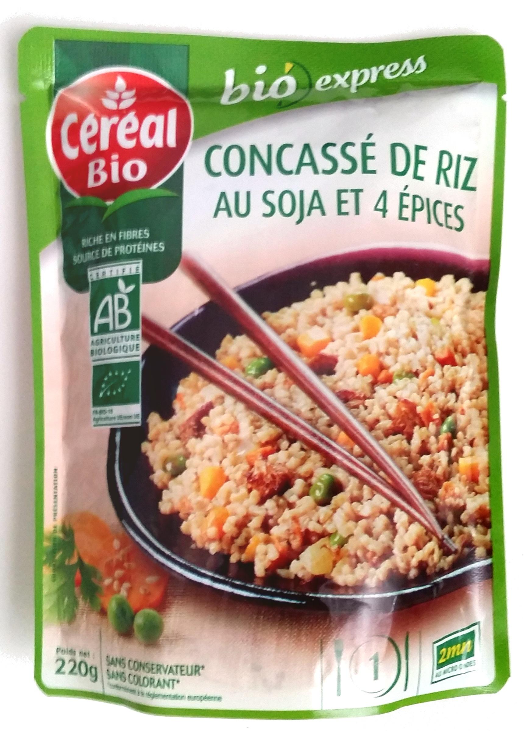 Concassé de riz au soja et 4 épices Bio - Prodotto - fr