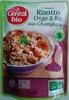 Cuisiné Risotto orge et riz aux champignons - Product