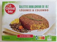 Boulghour de riz, légumes et colombo - Produit - fr