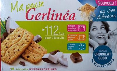 Biscuit diététique au son d'avoine Gerlinéa - Produit - fr
