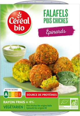 Falafels pois chiches et épinards - Product - fr